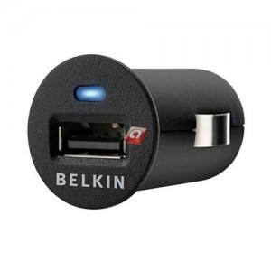 Belkin Mini USB Car Charger 12V