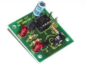 KIT No.1089 Led Flasher - 555 Tester - Μονταρισμένο