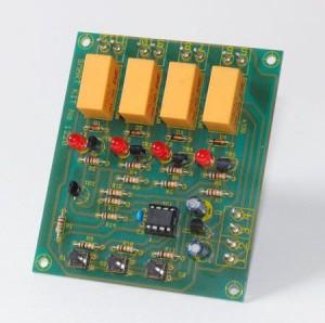 KIT No.1220 Selector Switch For 4 Cameras - Μονταρισμένο
