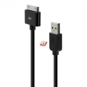 Belkin iPod/iPhone sync and charge cable black