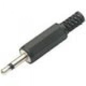 K-302C καρφάκι 3.5mm mono αρσενικό πλαστικό