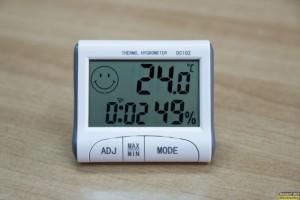 ψηφιακό θερμόμετρο/υγρασιόμετρο