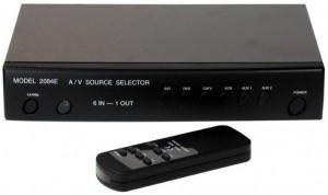 Επιλογέας Audio- Video  6 σε 1