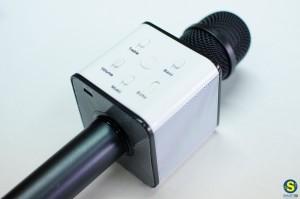 Μικρόφωνο - karaoke με ενσωματωμένο ενισχυτή και ηχεία 2x3W