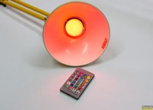 Έξυπνες λάμπες LED με χρώματα και τηλεχειριστήριο