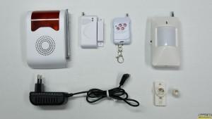 Ασύρματο Σύστημα Συναγερμού με αισθητήρες κίνησης και πόρτας