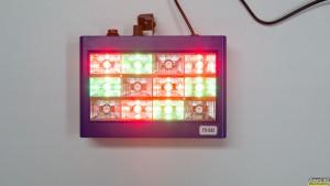 Πολύχρωμο LED Strobe Φωτιστικό για πάρτι