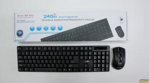 Πληκτρολόγιο & Mouse: ασύρματο αδιάβροχο σετ