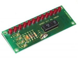 KIT No.1002 V.U Meter με LED's - Μονταρισμένο
