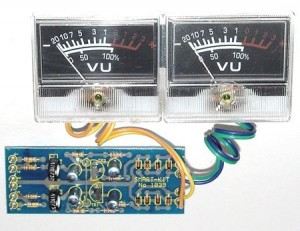 KIT No.1039 Stereo Vu - Meter   - Μονταρισμένο