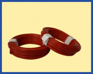 SOLID CORE WIRE 10m RED
