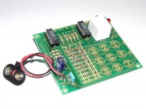 KIT No.1114 Ηλεκτρονική Κλειδαριά  - Μονταρισμένο