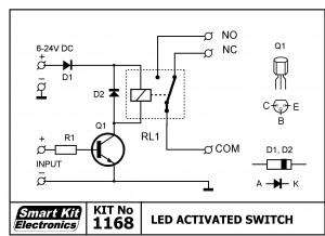 KIT No.1168 Led Activated Switch