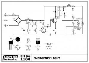 KIT No.1184 Φώτα ασφαλείας