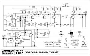 KIT No.1187 VCO 3Watt