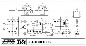 KIT No.1195 Ηλεκτρονικό Κουδούνι