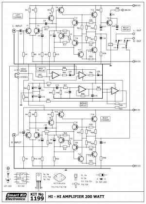 KIT No.1199 Ενισχυτής HI FI 2 x 35W / 8 Ohm
