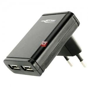 Ansmann Dual USB-Charger slim