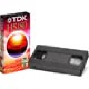 ΚΑΣ.TDK E-180HS κασσέτα video 180min.