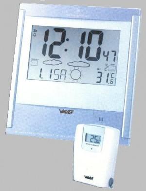 Winner Θερμόμετρο-Ρολόι-Βαρόμετρο Τοίχου A745