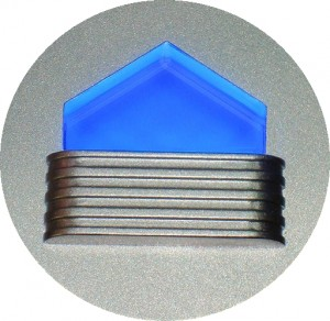 ΦΩΤΙΣΤΙΚΟ ΤΟΙΧΟΥ με 4 LED