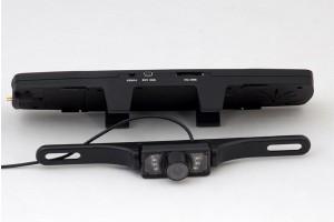 Καθρέπτης bluetooth + ακουστικό + camera