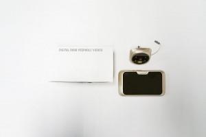 Ψηφιακό «ματάκι» πόρτας με κάμερα και οθόνη