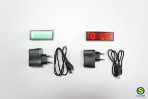 Mini ψηφιακές επιγραφές με LED