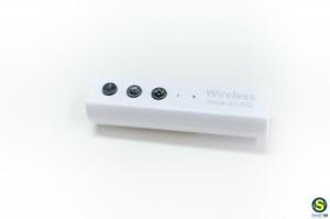 Φορητός δέκτης ήχου Bluetooth με έξοδο stereo