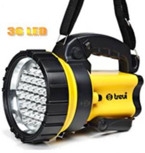 Φορητός φακός με 36 LED