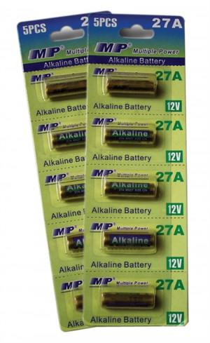 MP μπαταρίες αλκαλικές 12V Α27 5τμχ
