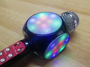 Μικρόφωνο - karaoke με ενσωματωμένο ενισχυτή και ηχεία