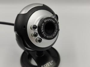Web camera με 6 LED και πλήκτρο για φωτογραφίες
