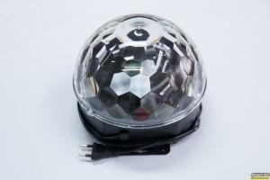 Magic Disco Ball με τηλεκοντρόλ και USB