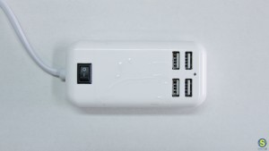 4πλος Φορτιστής 15W Universal με 4 θύρες USB