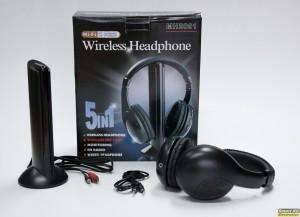 Ασύρματα ακουστικά με chat και FM radio