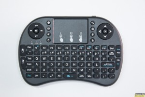 Ασύρματο Media Πληκτρολόγιο με touchpad