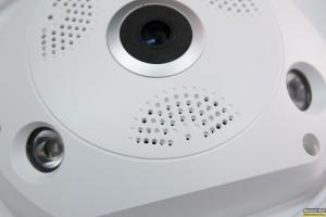 Πανοραμική IP κάμερα 360 μοιρών