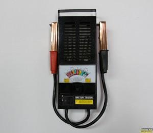 Δοκιμαστής καλής λειτουργίας για μπαταρίες αυτοκινήτου