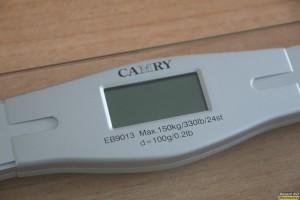 Γυάλινη ηλεκτρονική ζυγαριά Camry EB9013