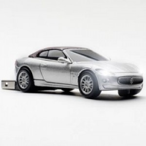 MASERATI CLICK CAR STICK 4GB SILVER