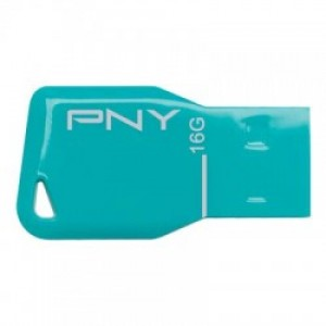 PNY USB STICK 16GB KEY BLUE