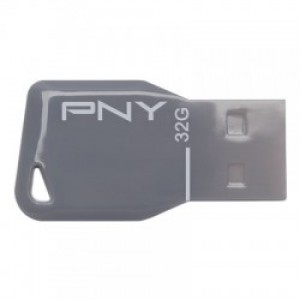 PNY USB STICK 32GB KEY GREY