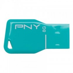 PNY USB STICK 8GB KEY BLUE