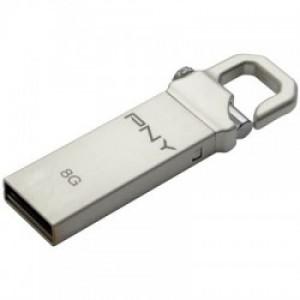 PNY USB STICK MICRO 8GB HOOK