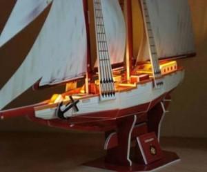 Two Masted Schooner κιτ φωτισμού