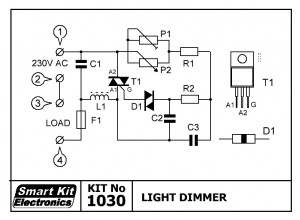 KIT No.1030 Light Dimmer