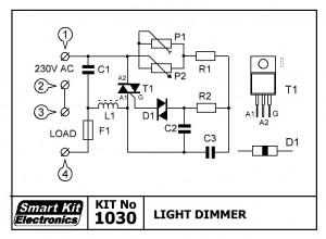 KIT No.1030 Light Dimmer