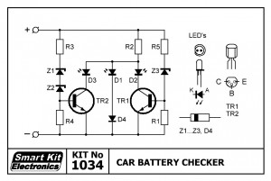 KIT No.1034 Car Battery Checker