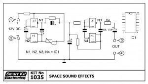 KIT No.1035 Space Sound Effects